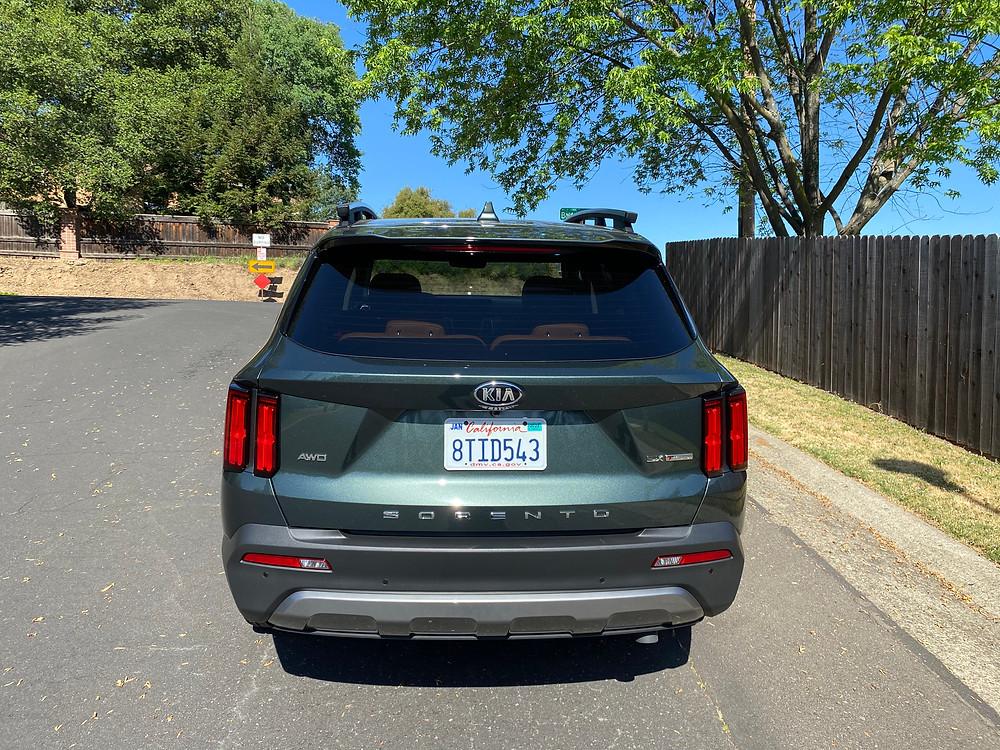 2021 Kia Sorento X-Line AWD rear view
