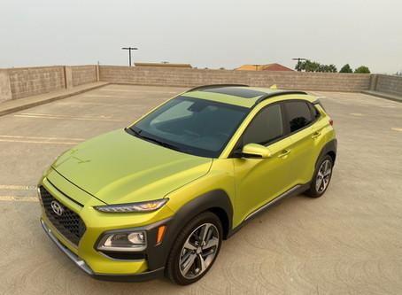 (Lime) Twistin' The Miles Away: The 2020 Hyundai Kona Ultimate FWD