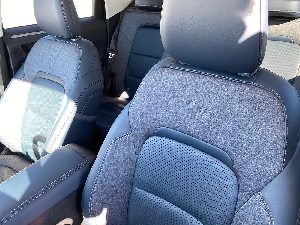 2021 Ford Bronco Sport Outer Banks 4X4 front seat detail