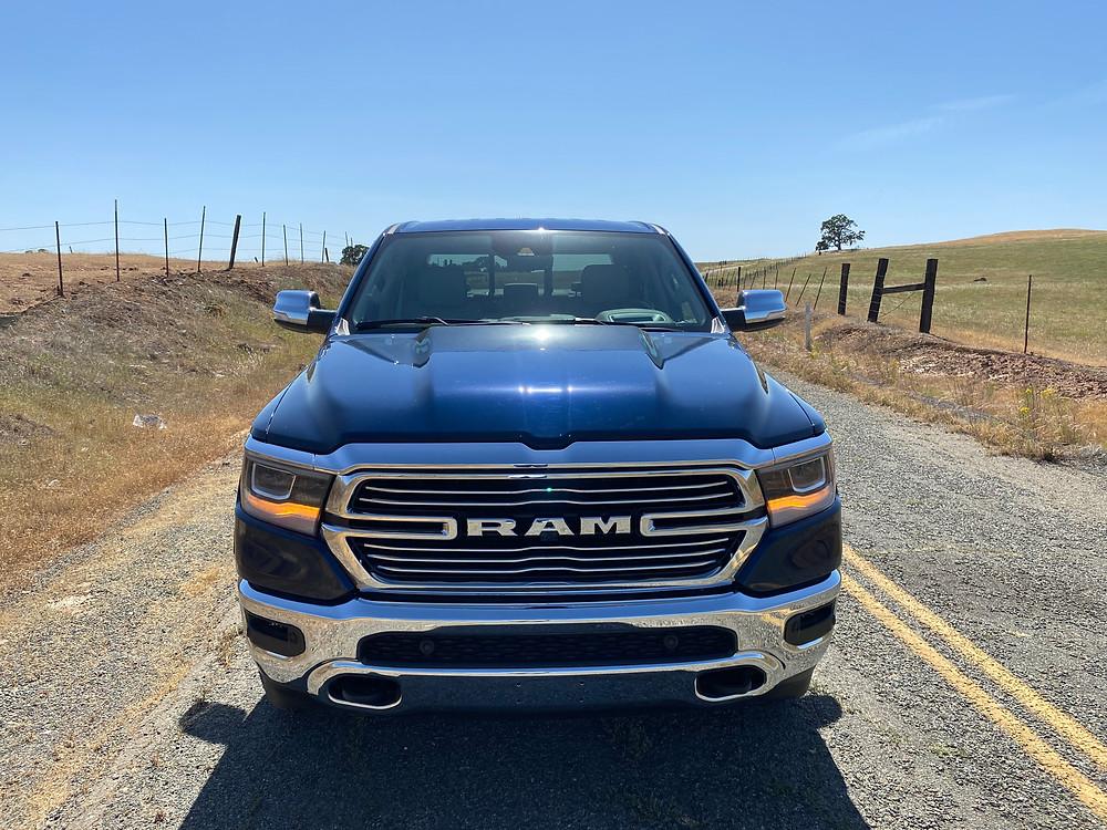 2021 RAM 1500 Laramie Crew Cab 4X4 front view