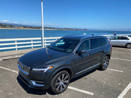 Hybrid. Power.  The 2021 Volvo XC90 Recharge T8 Inscription