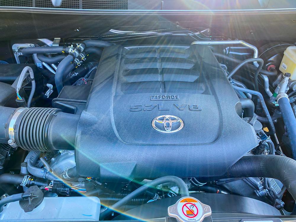 2020 Toyota Sequoia TRD PRO engine