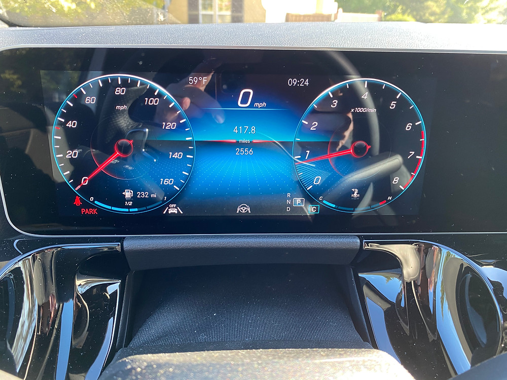 2021 Mercedes-Benz GLA 250 digital gauge cluster
