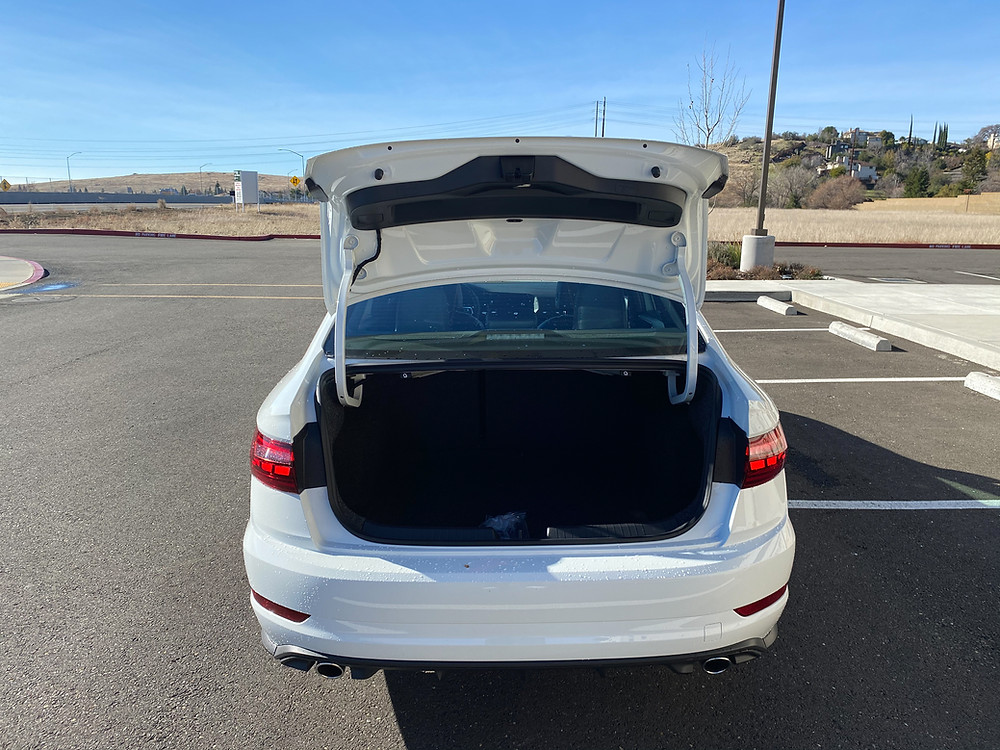 2021 Volkswagen Jetta GLI Autobahn trunk open