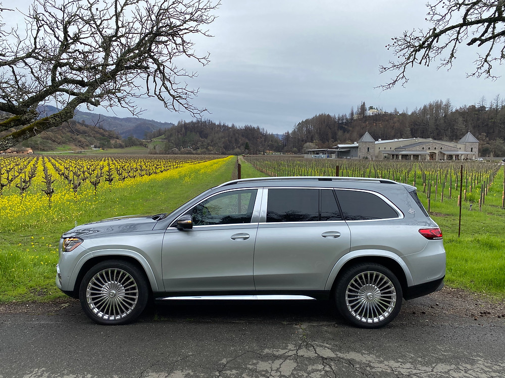 2021 Mercedes-Maybach GLS 600 4MATIC side view