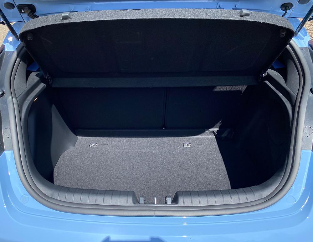 2021 Hyundai Veloster N cargo area