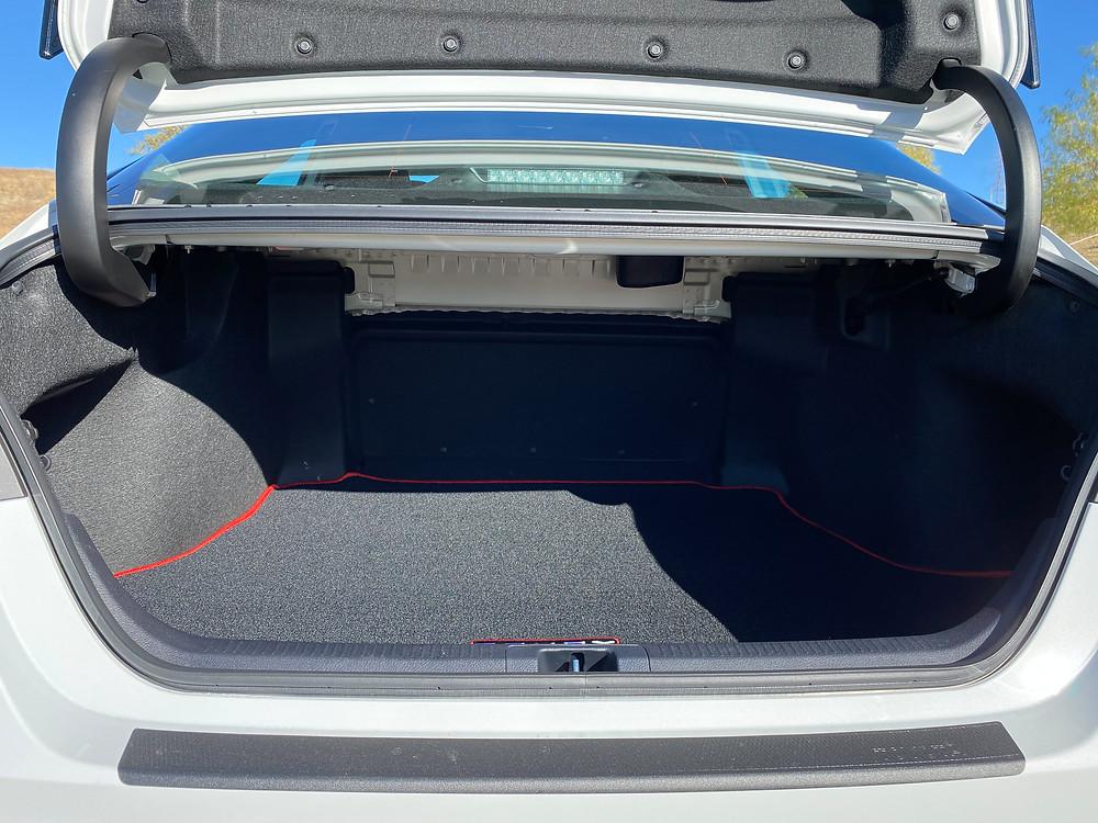 2021 Toyota Camry TRD V6 trunk