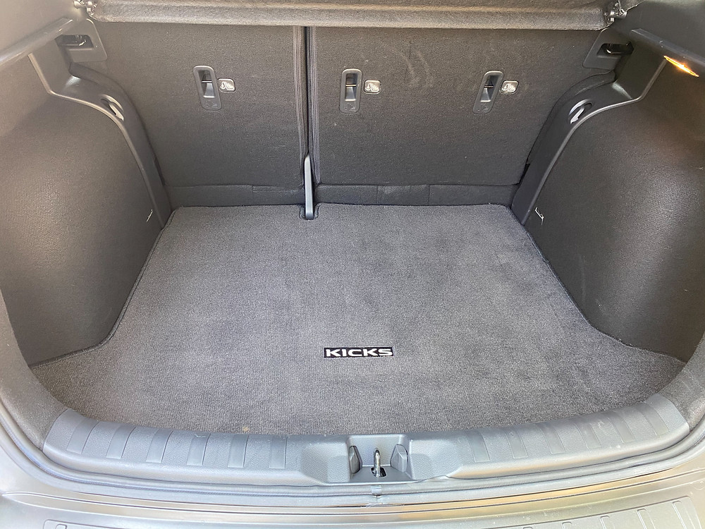 2020 Nissan Kicks SR cargo area