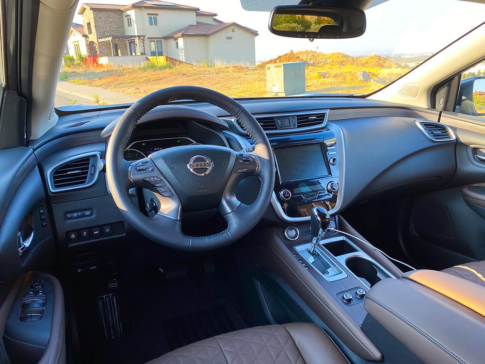 2020 Nissan Murano Platinum FWD instrument panel