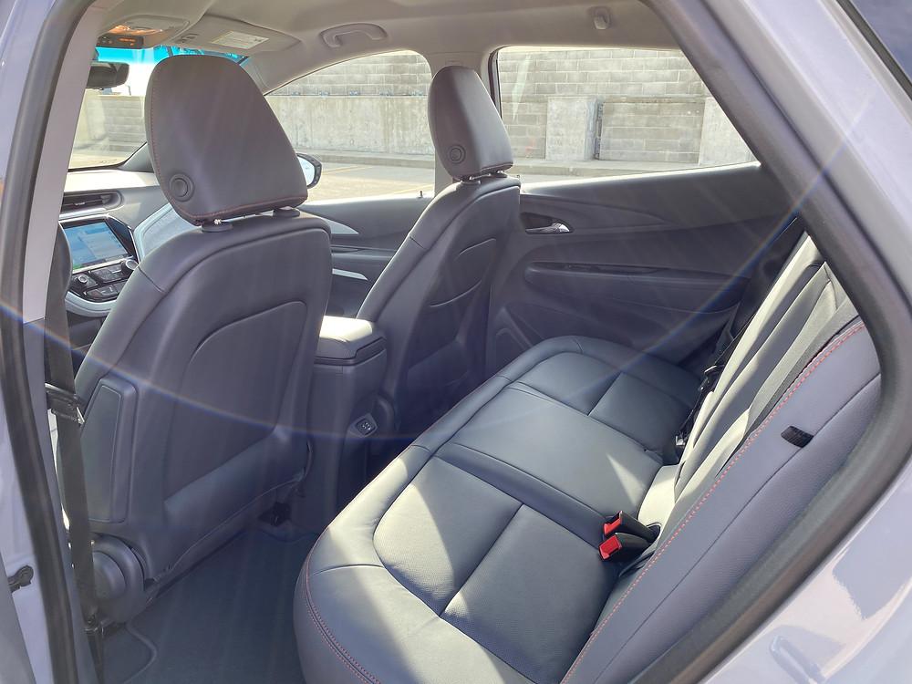 2020 Chevrolet Bolt EV Premier rear seat