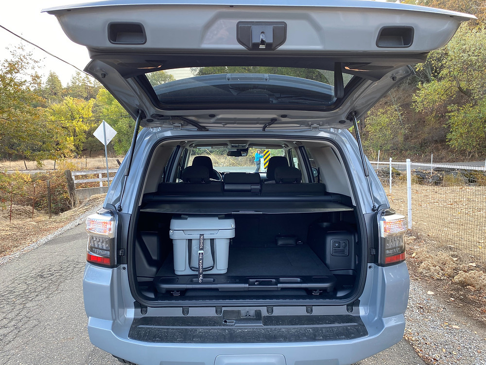 2021 Toyota 4Runner 4x4 Trail liftgate open