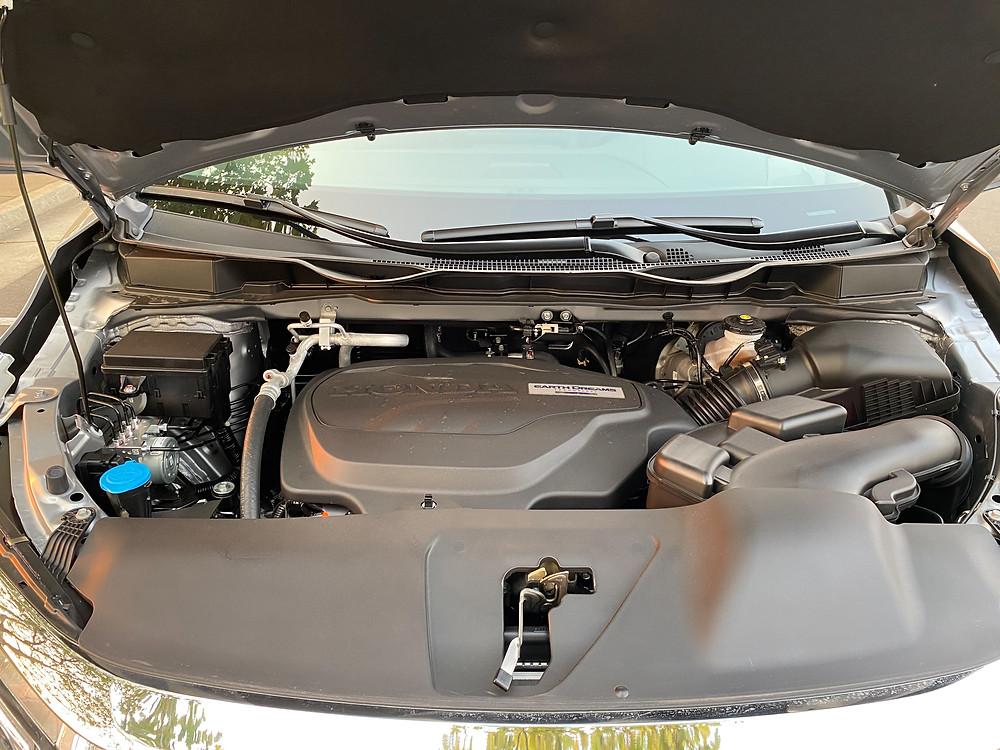 2021 Honda Odyssey Elite engine