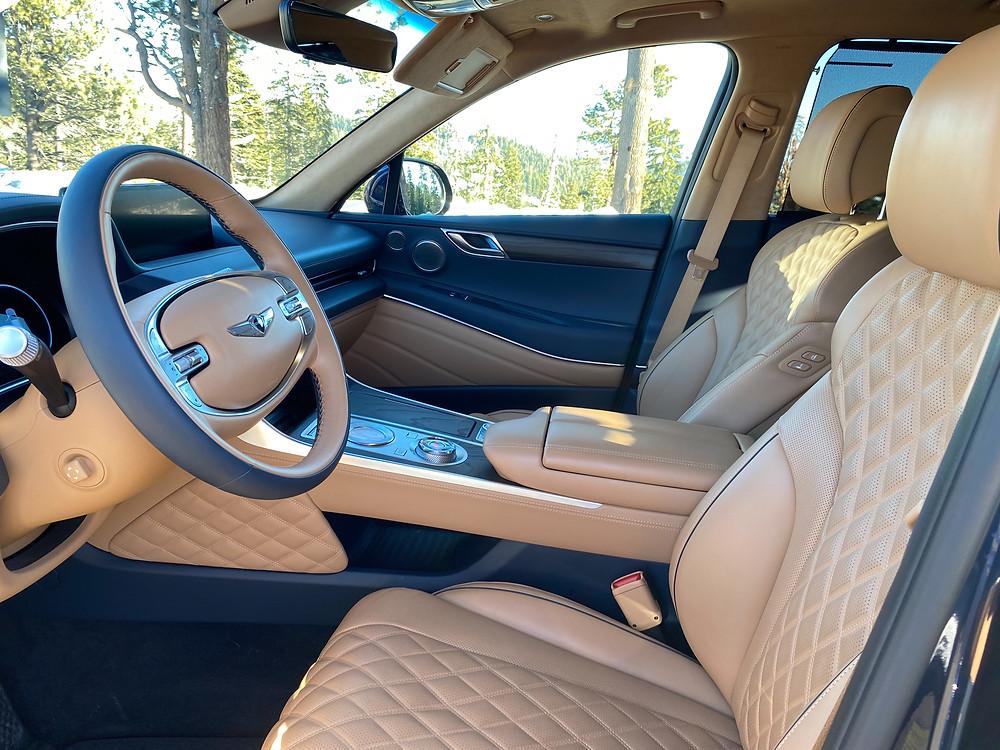 2021 Genesis GV80 front seats
