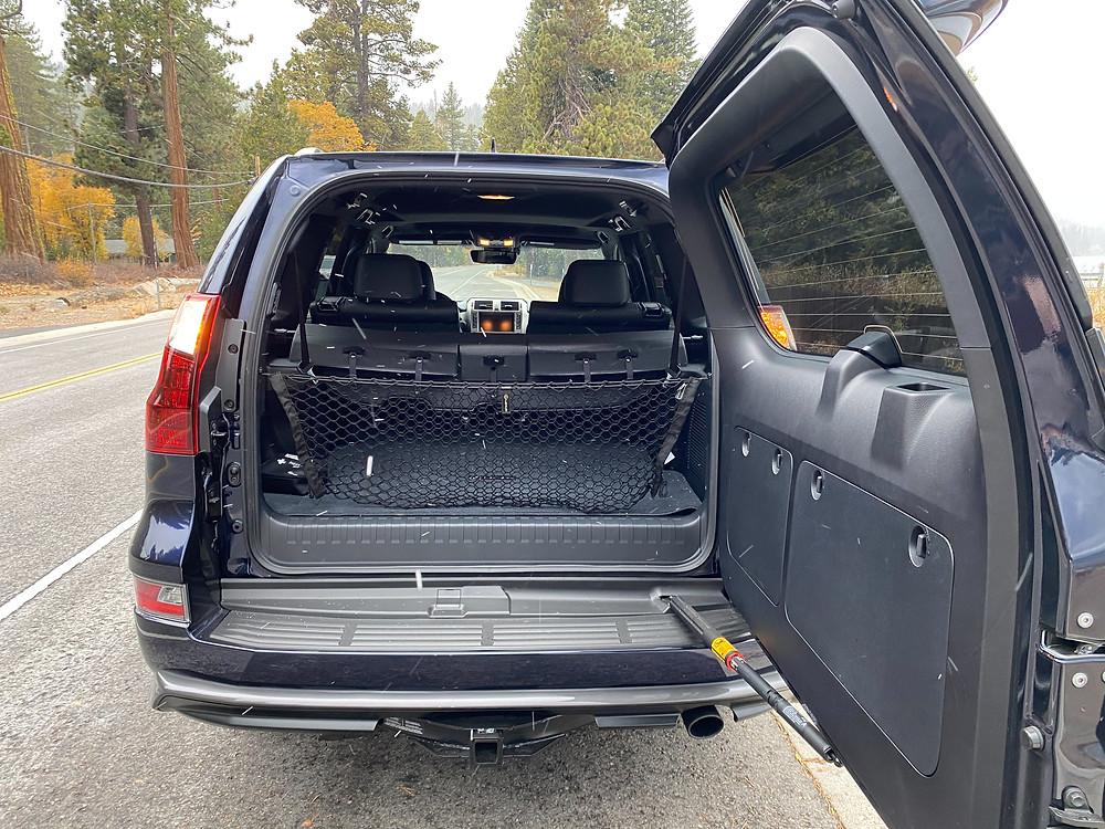 2021 Lexus GX460 rear door open