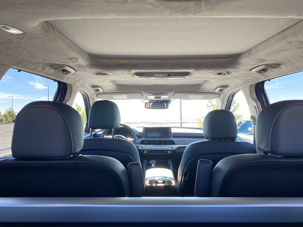 2021 Kia Tellruide SX V6 AWD interior
