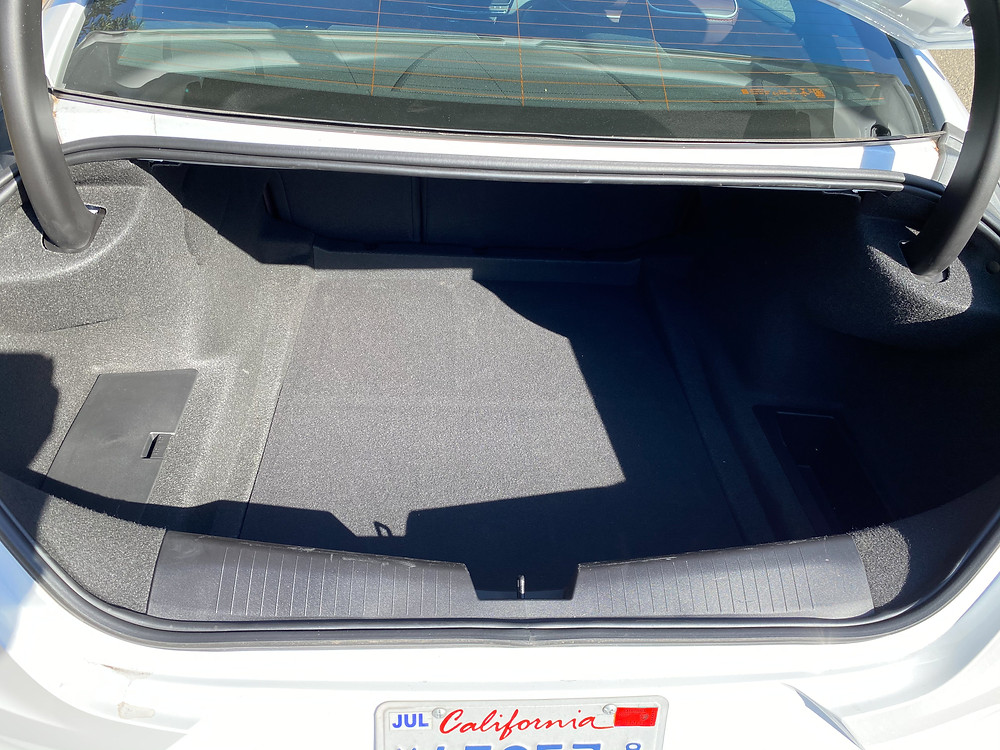 2020 Cadillac CT4 V-Series trunk