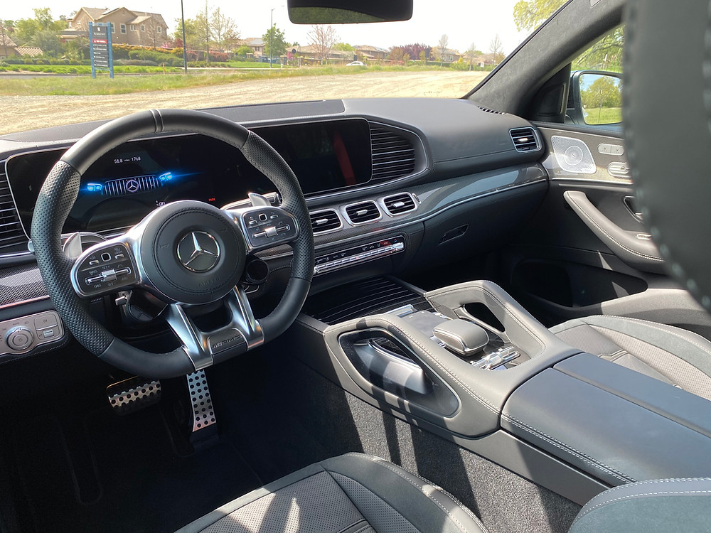 2021 Mercedes-AMG GLE 63 S Coupe instrument panel