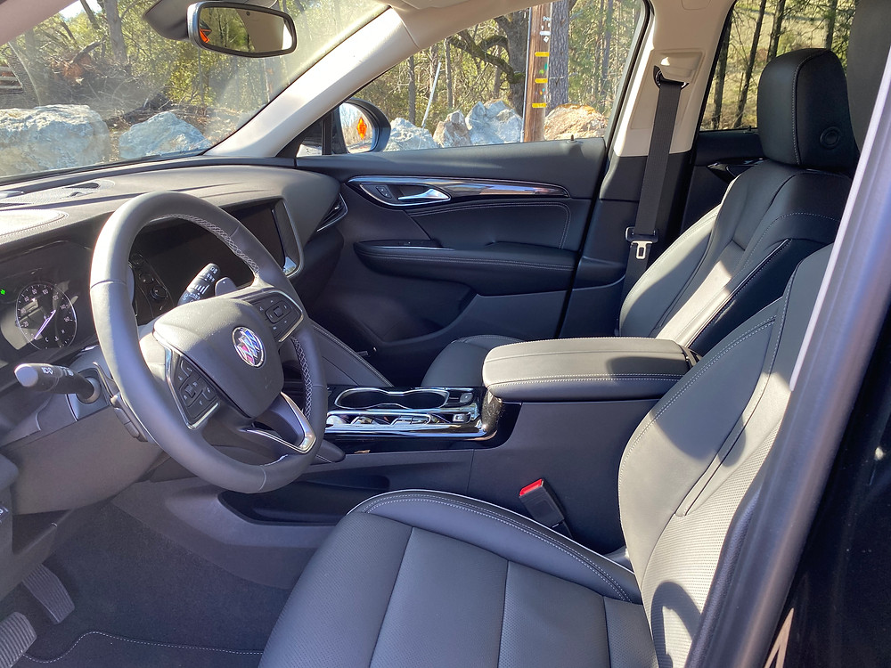 2021 Buick Envision front seats