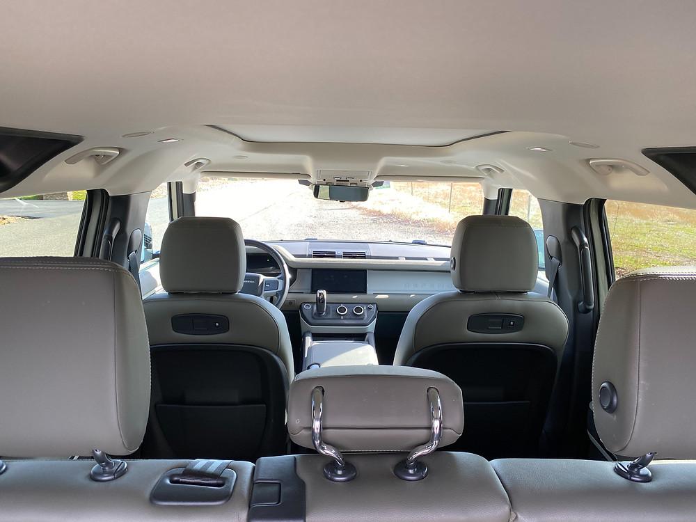 2020 Land Rover Defender 110 SE interior