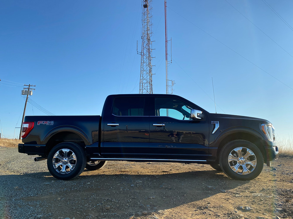 2021 Ford F-150 4X4 Supercrew side view