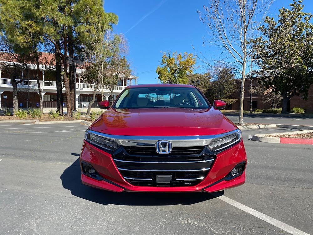 2021 Honda Accord Hybrid Touring front view