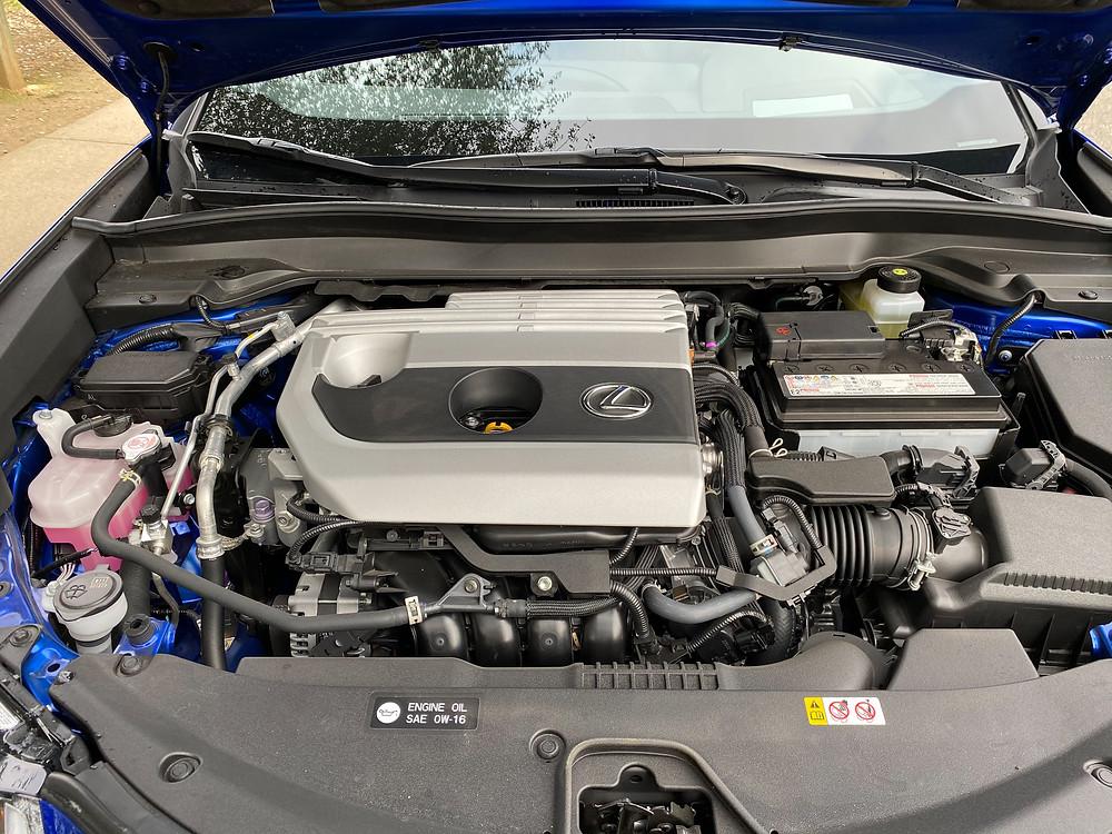 2021 Lexus UX 200 F SPORT engine