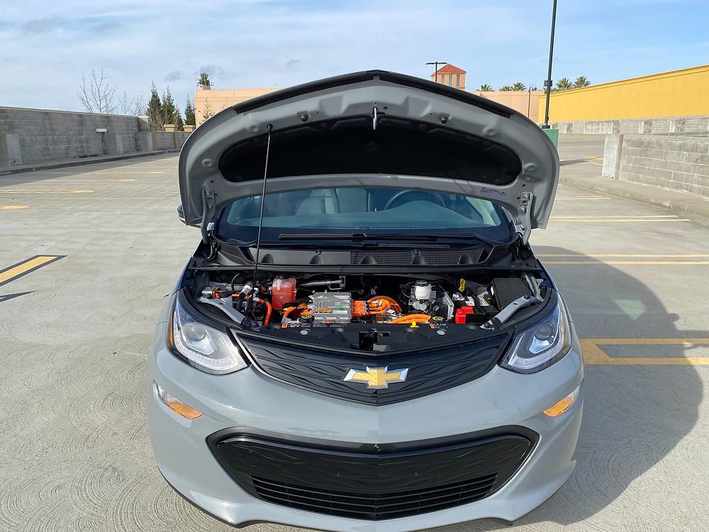 2020 Chevrolet Bolt EV Premier hood up