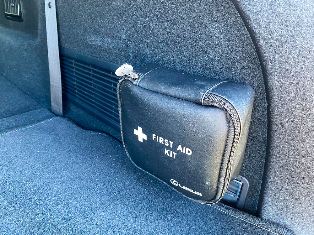 2020 Lexus RX 450hL first aid kit
