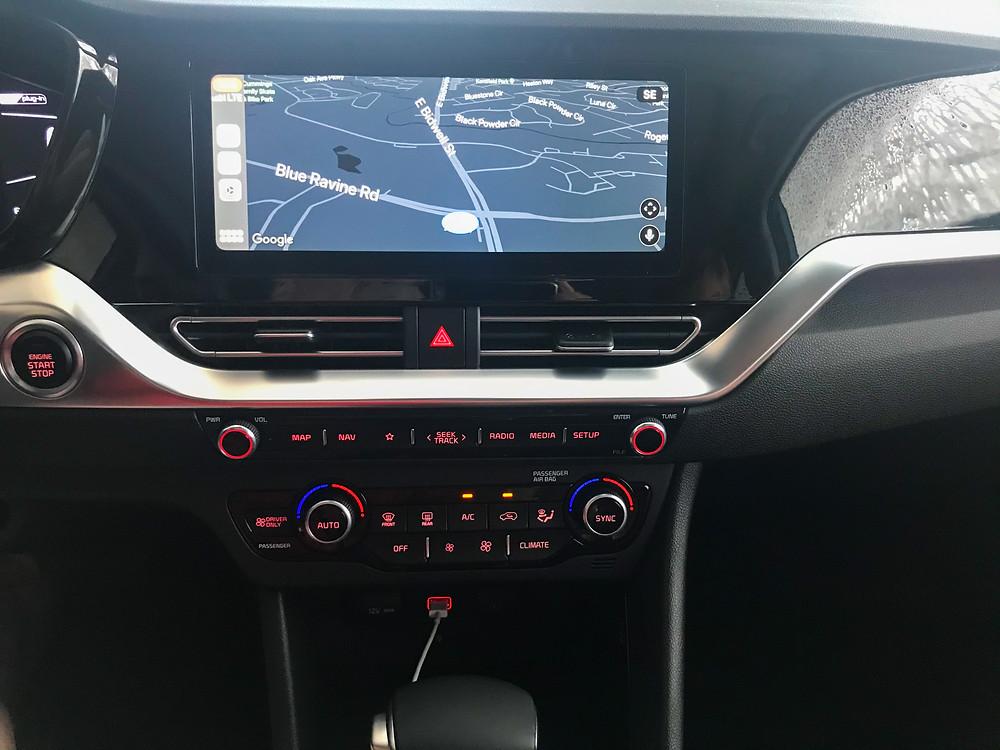 2020 Kia Niro PHEV EX Premium Navigation, Infotainment and HVAC