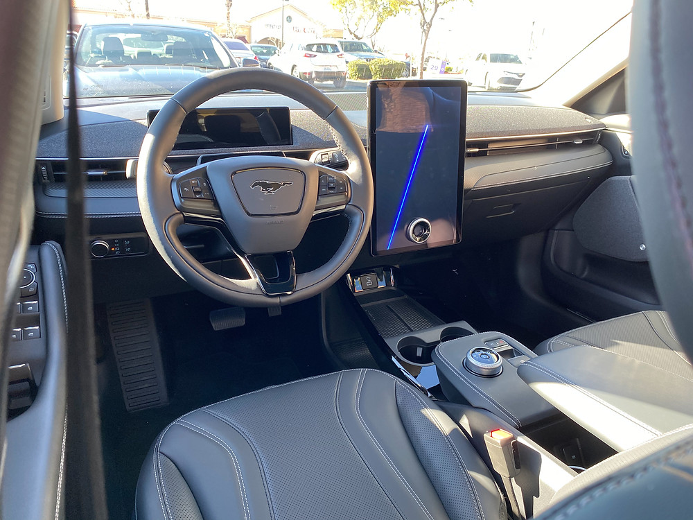 2021 Ford Mustang Mach-E instrument panel