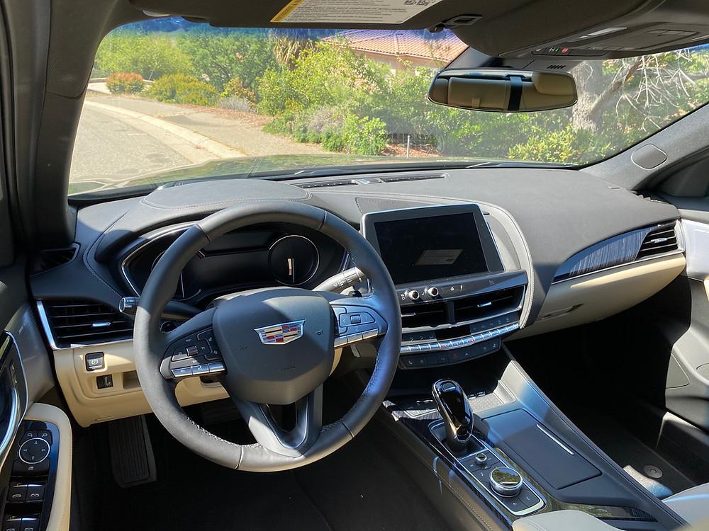 2021 Cadillac CT5 Premium Luxury instrument panel