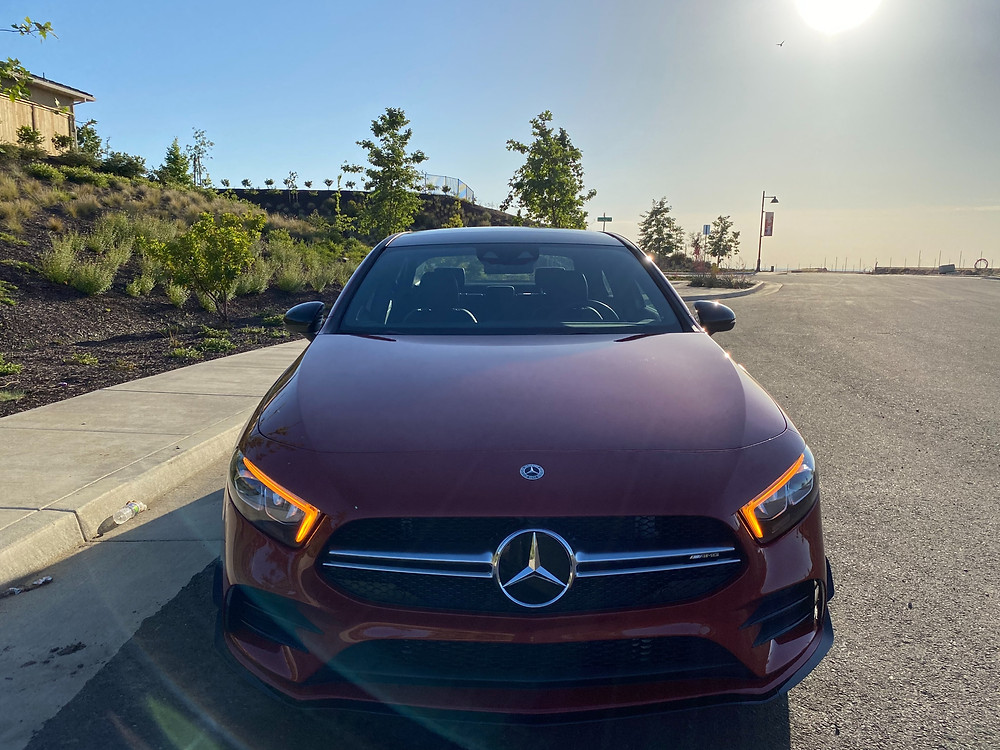 2021 Mercedes-AMG A35 4MATIC front view