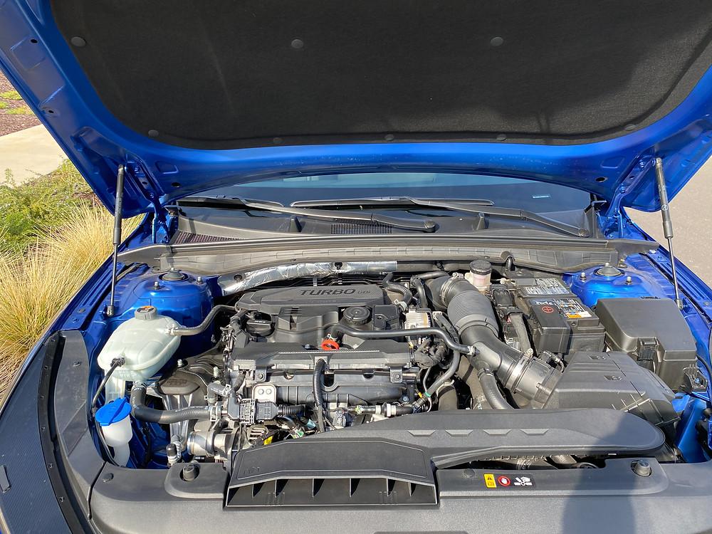 2021 Kia K5 GT-Line engine