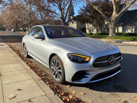The New Standard: The 2021 Mercedes-Benz E450 4MATIC Sedan