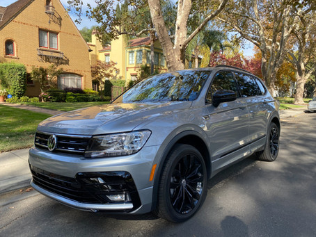 Bargain: The 2020 Volkswagen Tiguan 2.0T SE R-Line Black