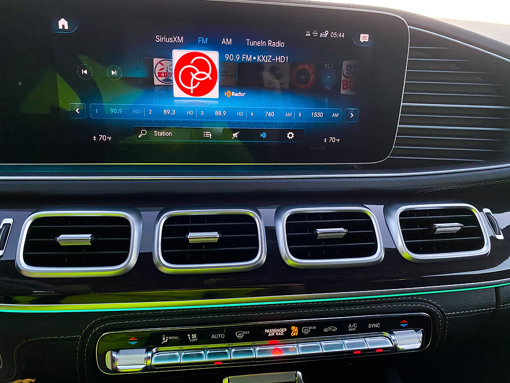 2021 Mercedes-Benz AMG GLE 53 Coupe infotainment screen