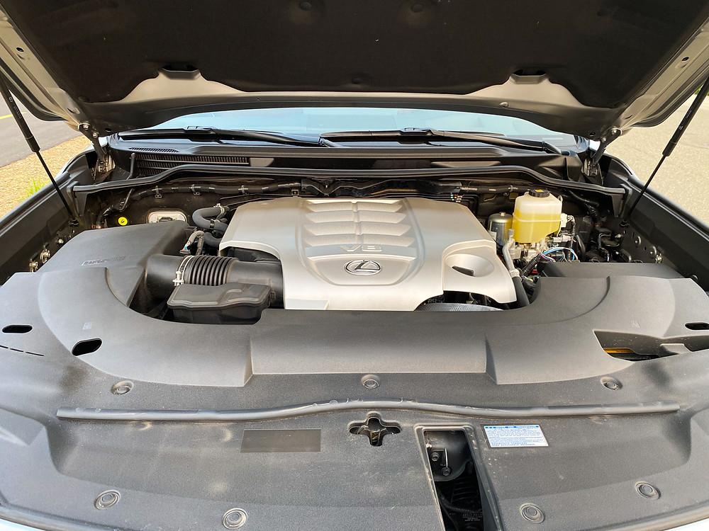2020 Lexus LX570 engine