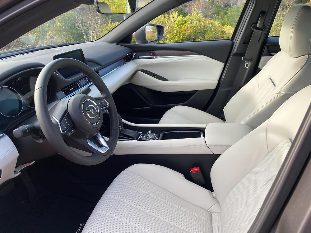2021 Mazda 6 Signature front seats