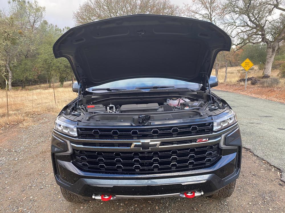 2021 Chevrolet Tahoe 4WD Z71 hood up