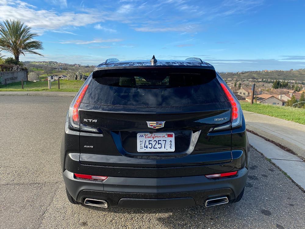 2021 Cadillac XT4 rear view