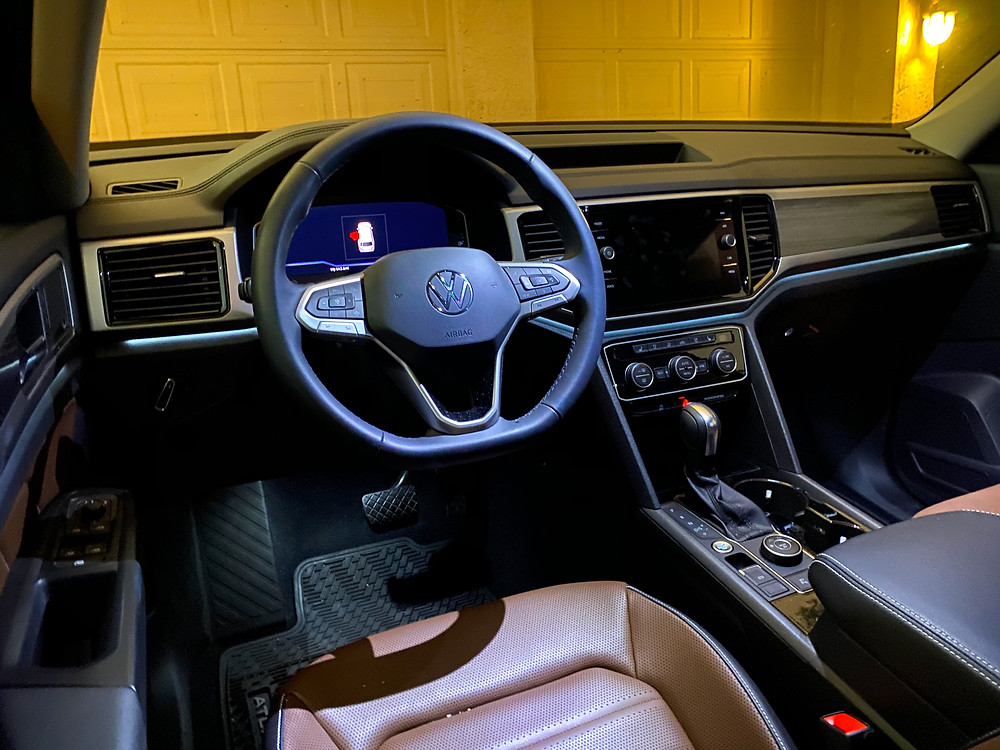 2021 Volkswagen Atlas V6 SEL Premium instrument panel