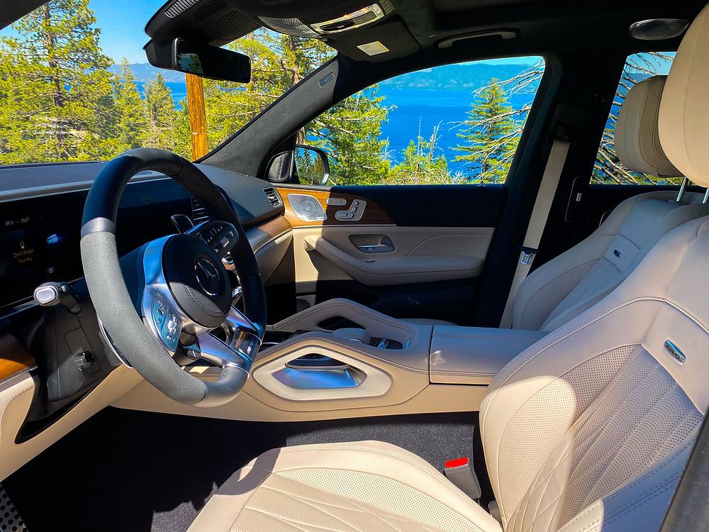 2021 Mercedes-AMG GLS 63 front seats
