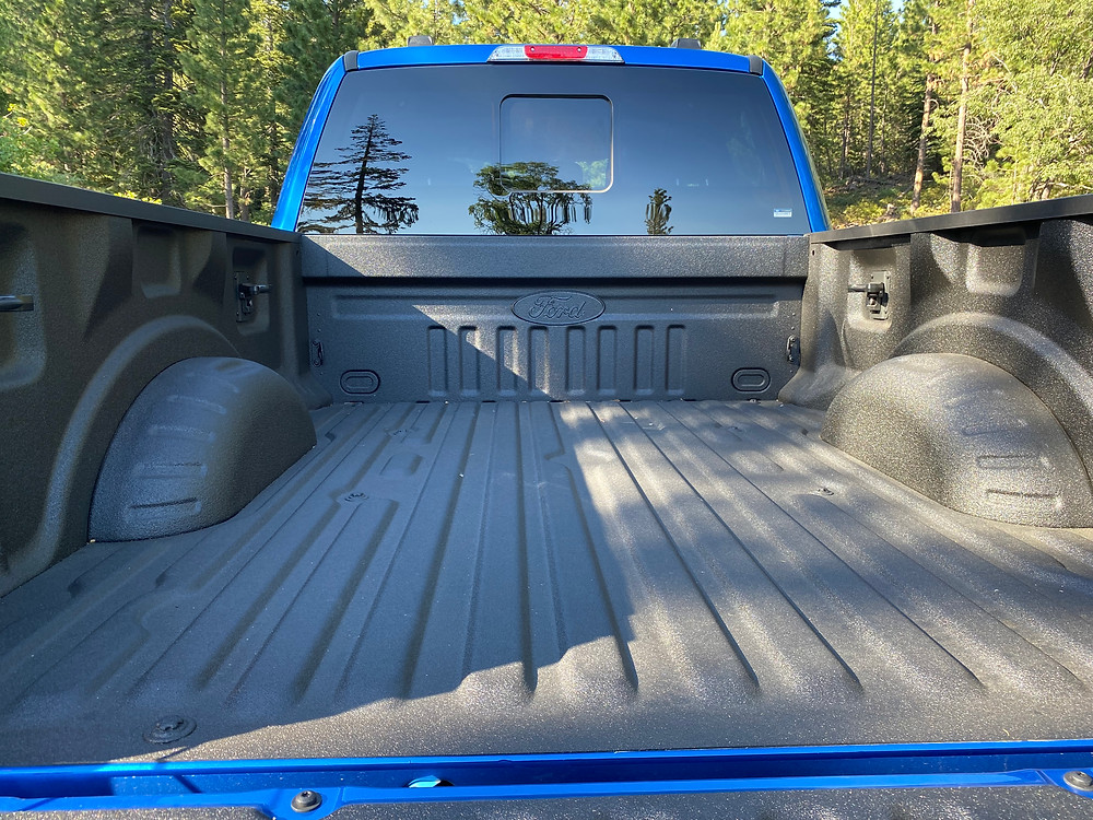 2021 Ford F-250 Tremor bed