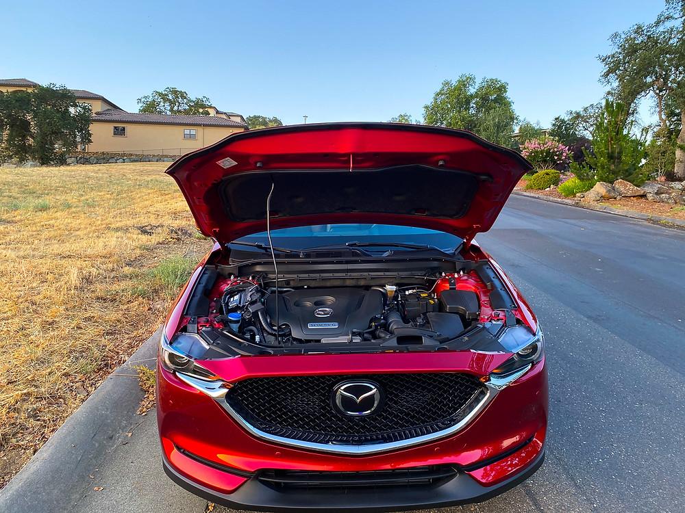 2020 Mazda CX-5 Signature AWD hood open