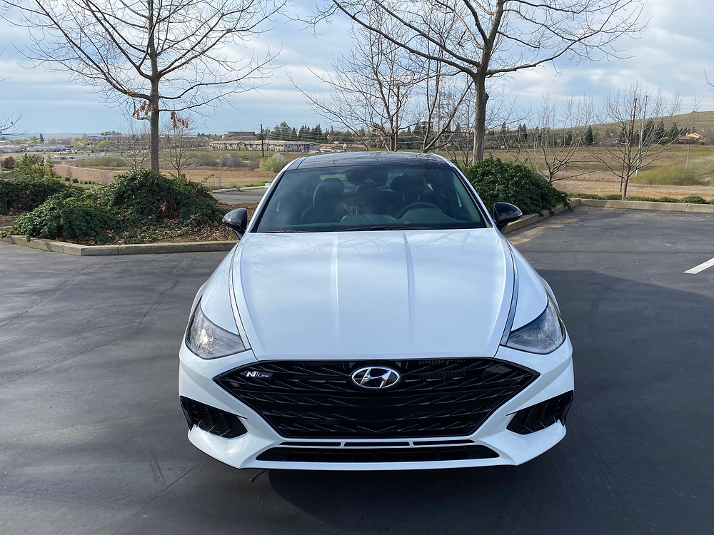 2021 Hyundai Sonata N-Line front view
