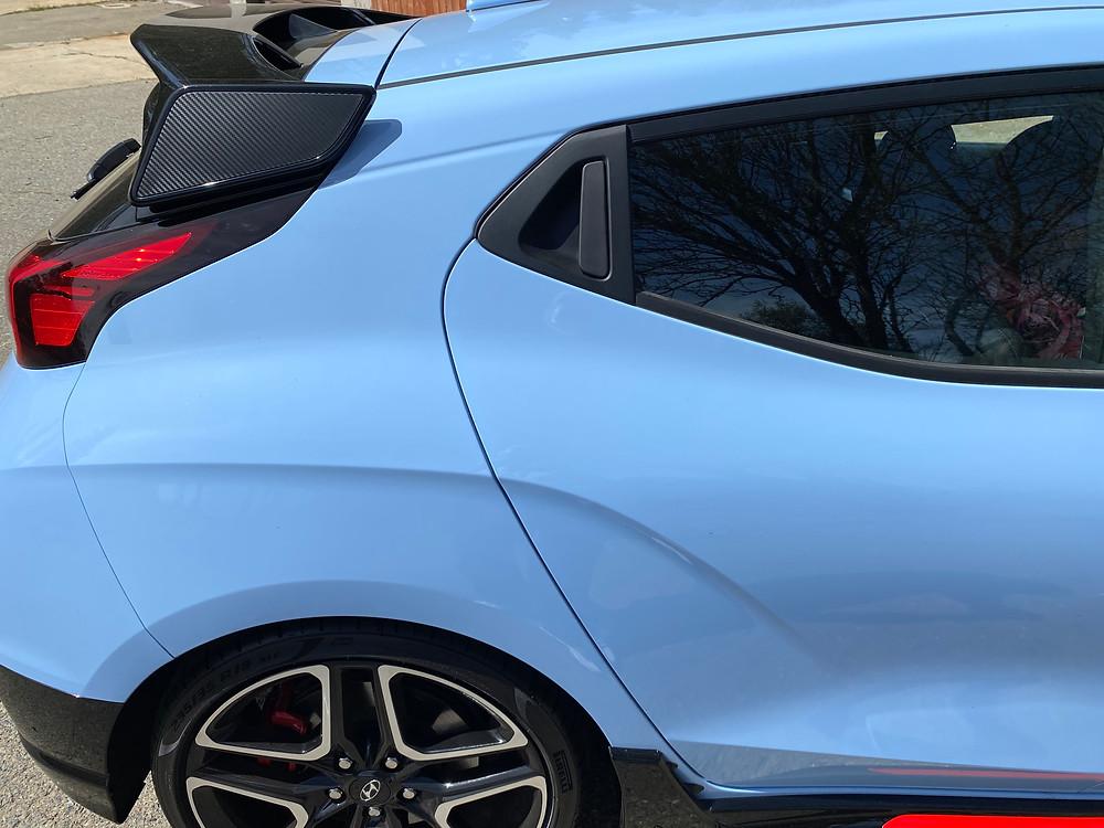 2021 Hyundai Veloster N third door