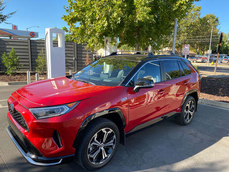 Plug and Play: The 2021 Toyota RAV4 Prime XSE AWD
