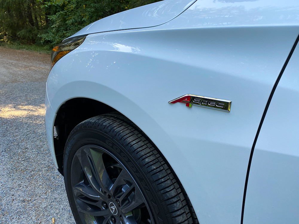 2020 Acura RDX SH-AWD A-Spec fender badge