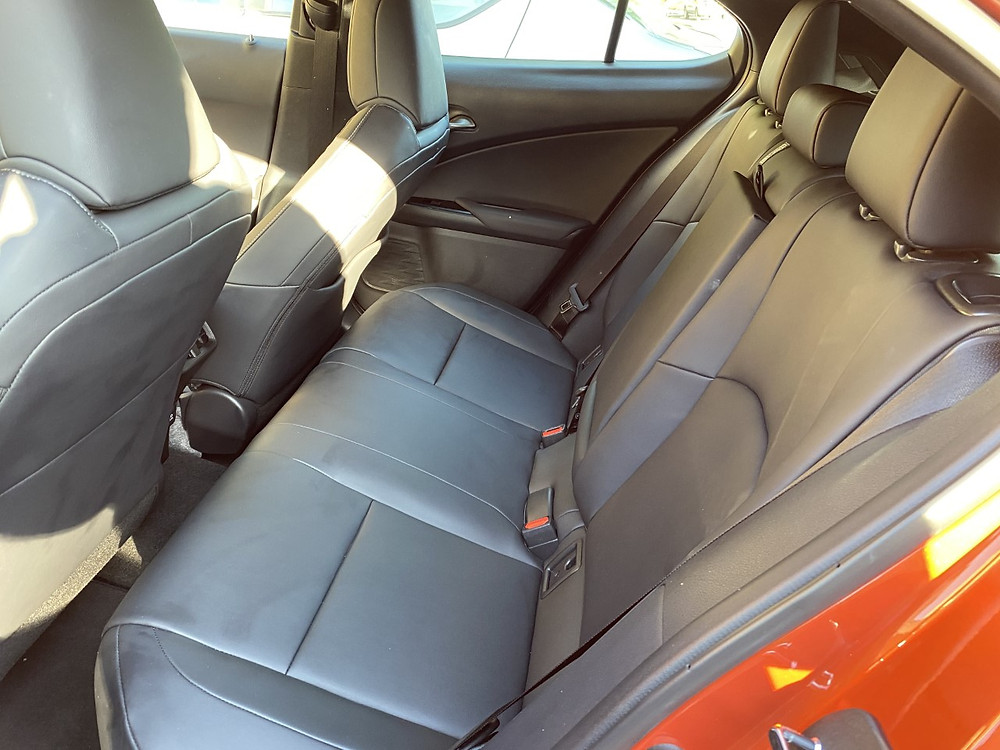 2020 Lexus UX 250h rear seat