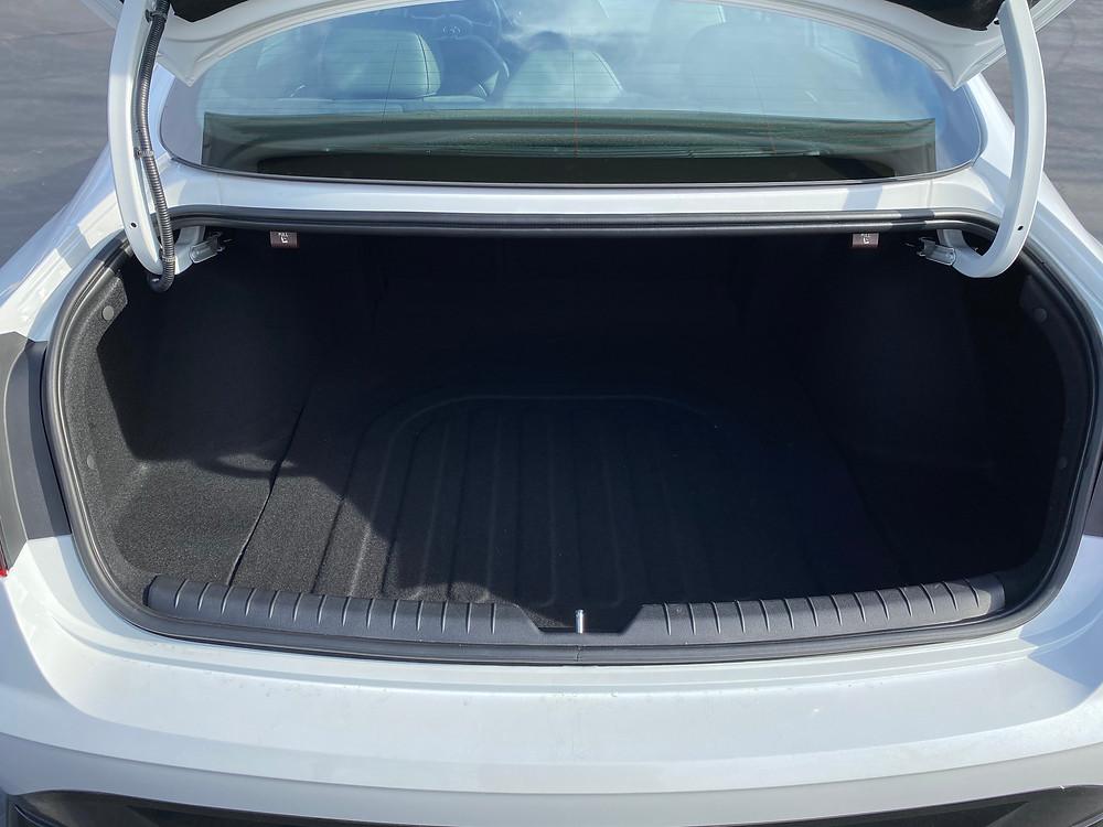 2021 Hyundai Sonata N-Line trunk